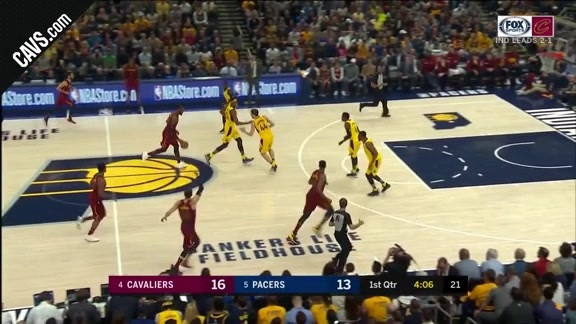LBJ Muscles Home the And-One