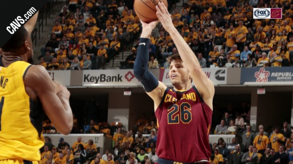 Korver with the Corner Triple