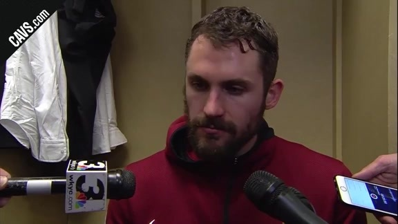 #CavsPacers Game 4 Postgame: Kevin Love - April 22, 2018