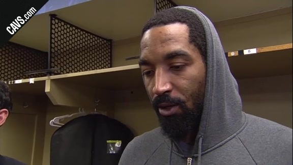 #CavsPacers Game 4 Postgame: JR Smith - April 22, 2018