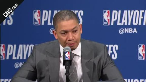 #CavsPacers Game 4 Postgame: Coach Lue - April 22, 2018