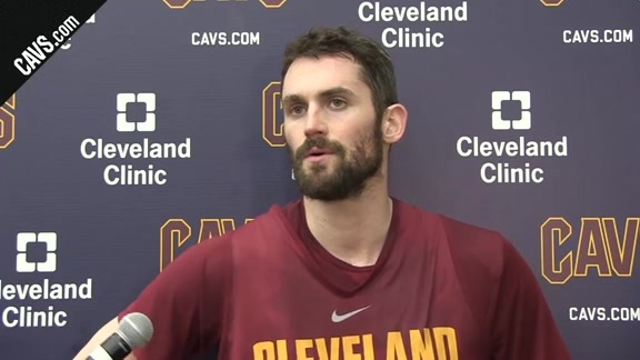 #CavsPacers Game 5 Practice: Kevin Love – April 24, 2018