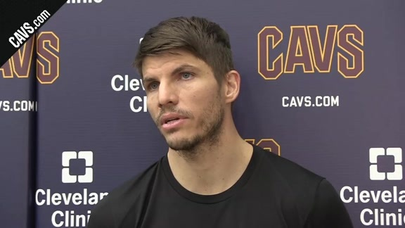 #CavsPacers Game 5 Practice: Kyle Korver – April 24, 2018
