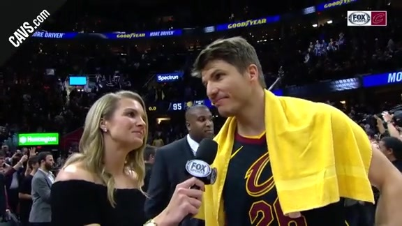 #CavsPacers Game 5 On-Court Postgame: Kyle Korver - April 25, 2018