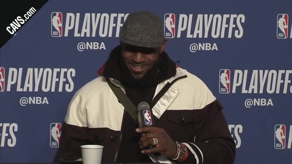 #CavsPacers Game 5 Postgame: LeBron James - April 25, 2018