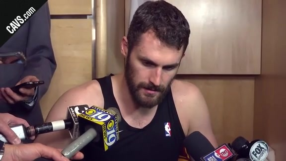 #CavsPacers Game 5 Postgame: Kevin Love - April 25, 2018