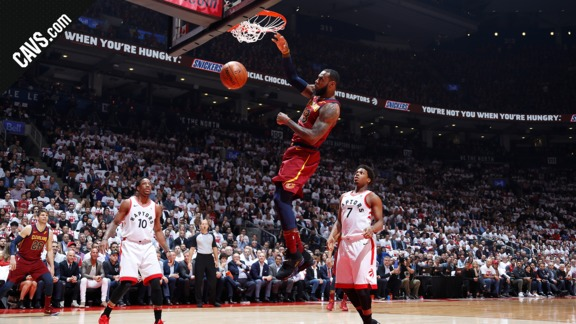 Featured Highlight: LBJ Rocks the Rim