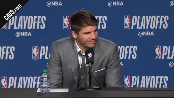 #CavsRaptors Game 1 Postgame: Kyle Korver - May 1, 2018