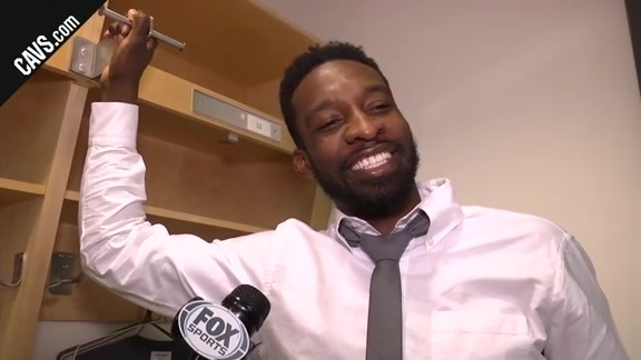 #CavsRaptors Game 1 Postgame: Jeff Green - May 1, 2018