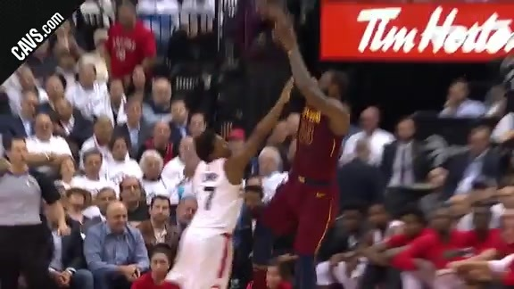 LBJ with Back-to-Back Fadeaways
