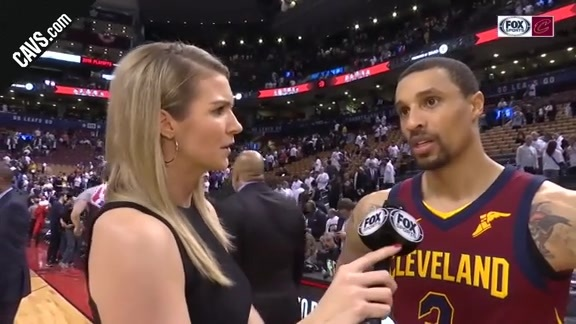 #CavsRaptors Game 2 On-Court Postgame: George Hill - May 3, 2018