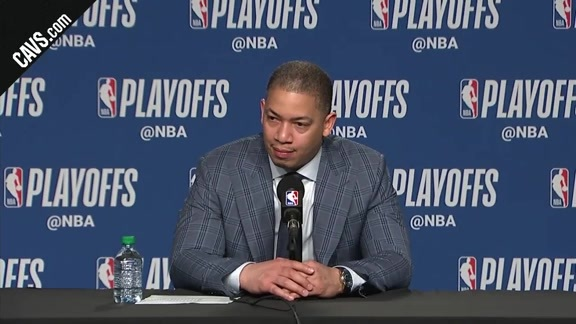 #CavsRaptors Game 2 Postgame: Coach Lue - May 3, 2018