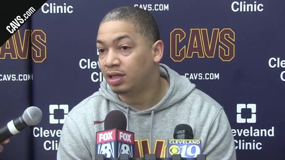 Coach Lue Checks in from Friday's Practice