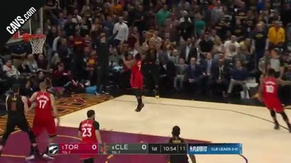 Great Passing Leads to George Hill Trey