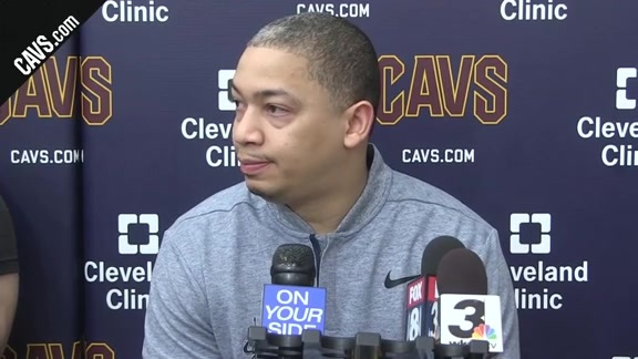 Coach Lue Checks in from Thursday's Practice