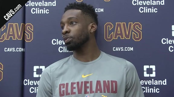 #CavsCeltics Game 1 Practice: Jeff Green – May 12, 2018