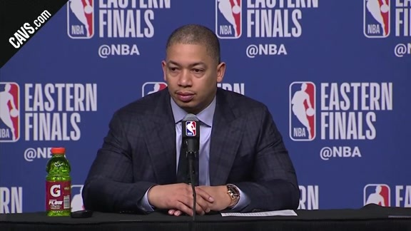 #CavsCeltics Game 1 Postgame: Coach Lue - May 13, 2018