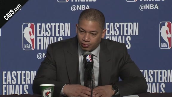 #CavsCeltics Game 3 Postgame: Coach Lue - May 19, 2018