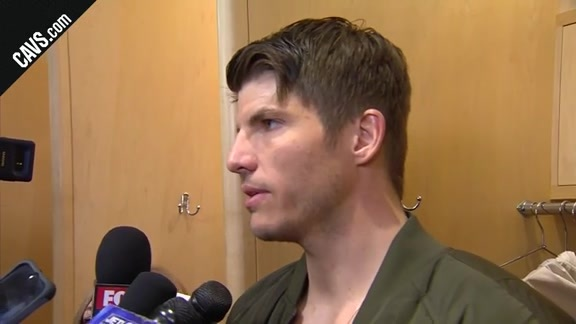 #CavsCeltics Game 3 Postgame: Kyle Korver - May 19, 2018