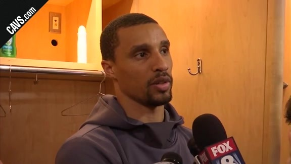 #CavsCeltics Game 3 Postgame: George Hill - May 19, 2018