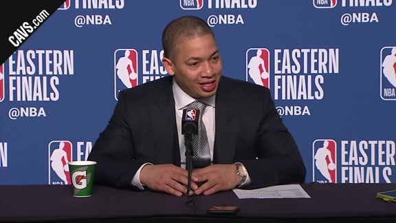 #CavsCeltics Game 4 Postgame: Coach Lue - May 21, 2018