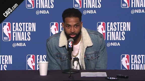 #CavsCeltics Game 4 Postgame: Tristan Thompson - May 21, 2018