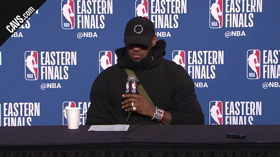 #CavsCeltics Game 4 Postgame: LeBron James - May 21, 2018