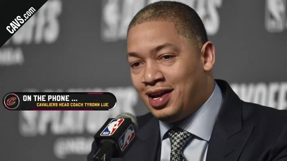 Conference Call: Coach Lue Talks #CavsCeltics Game 5