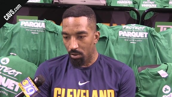 #CavsCeltics Game 5 Shootaround: JR Smith - May 23, 2018