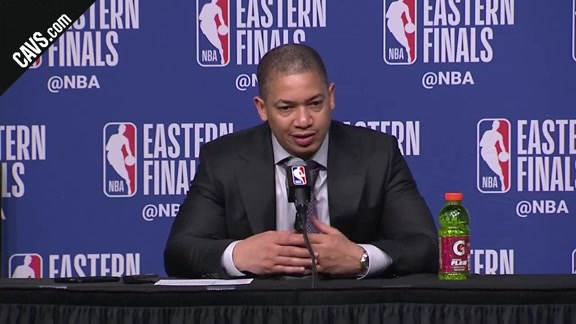 #CavsCeltics Game 5 Postgame: Coach Lue - May 23, 2018