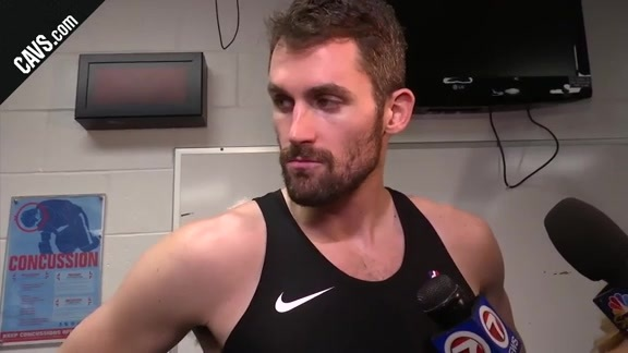 #CavsCeltics Game 5 Postgame: Kevin Love - May 23, 2018