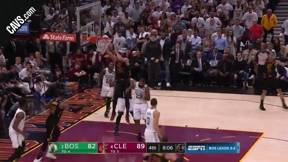 Larry Finishes the Play on a Tough Note