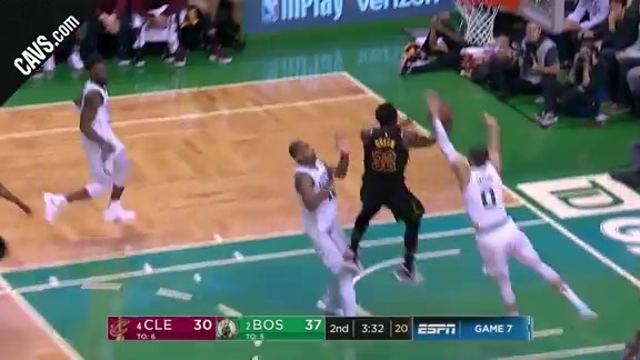 Green Goes Up and Under for Two Points