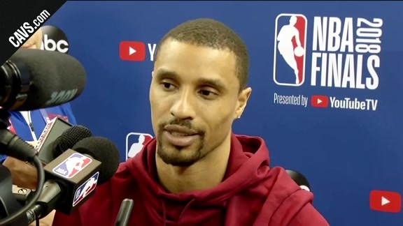 #CavsWarriors Game 1 Practice: George Hill – May 30, 2018