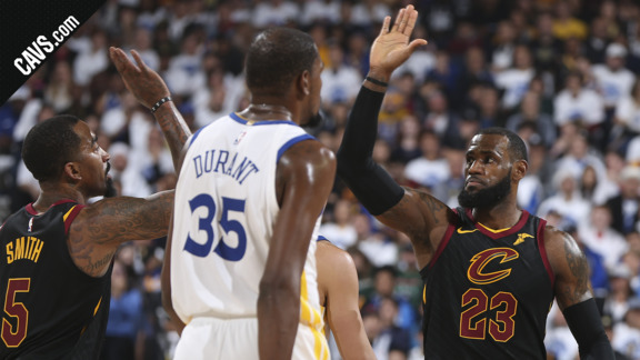 Cavs.com Gets You Hyped for Game 1 at Golden State