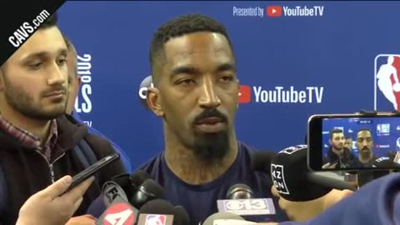 #CavsWarriors Game 1 Practice: JR Smith – May 30, 2018
