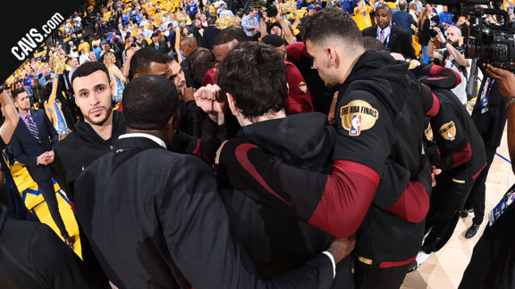 Cavs.com Gets You Hyped for Game 2 at Golden State