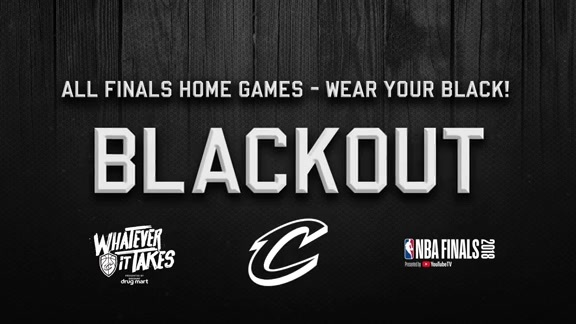 Blackout The Q for the Finals