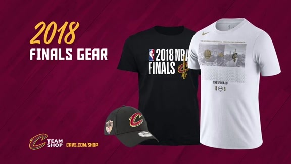 Gear Up for the 2018 NBA Finals!