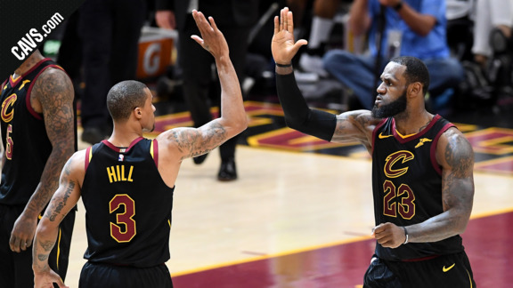 Cavs.com Gets You Hyped for Game 3 vs. Golden State