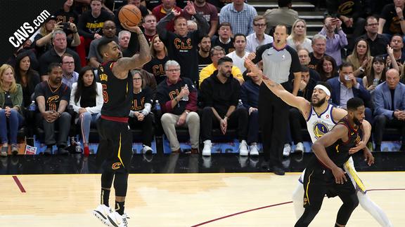 Cavs Can Pair of Triples Open Up Game 3