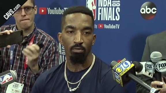 #CavsWarriors Game 4 Practice: JR Smith – June 7, 2018