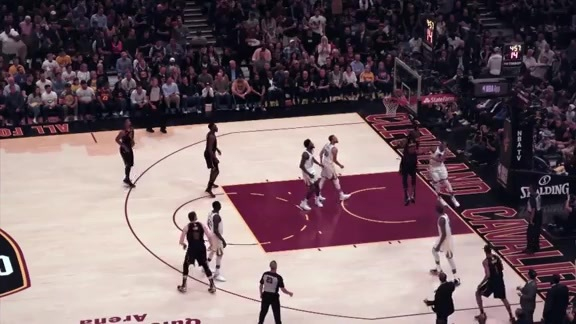 Intel True View: LBJ Hits Tough Layup
