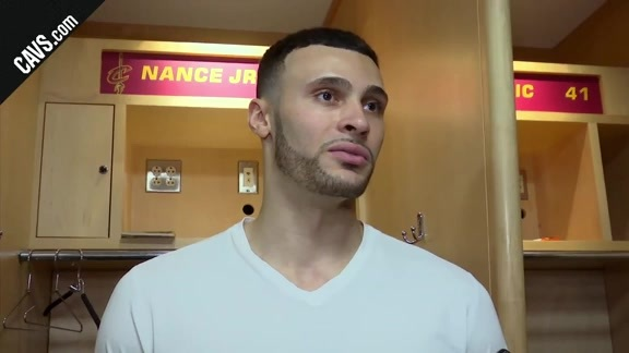 #CavsWarriors Game 4 Postgame: Larry Nance Jr. - June 8, 2018