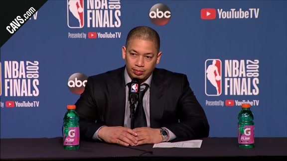 #CavsWarriors Game 4 Postgame: Coach Lue - June 8, 2018