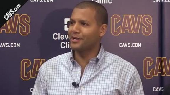 Koby Altman Talks 2018 NBA Draft