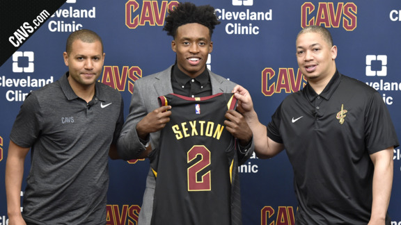 Cavs Introduce Collin Sexton
