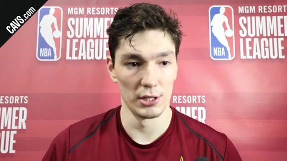 #CavsPacers Summer League Postgame: Cedi Osman – July 9, 2018