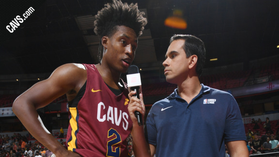 Collin Sexton Talks About Saturday's Win