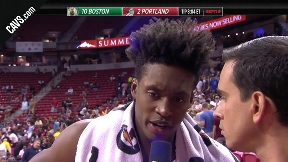 Collin Sexton Discusses Sunday's Win